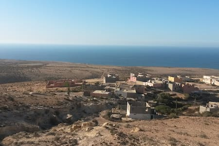House with a stunning ocean view in Berber village