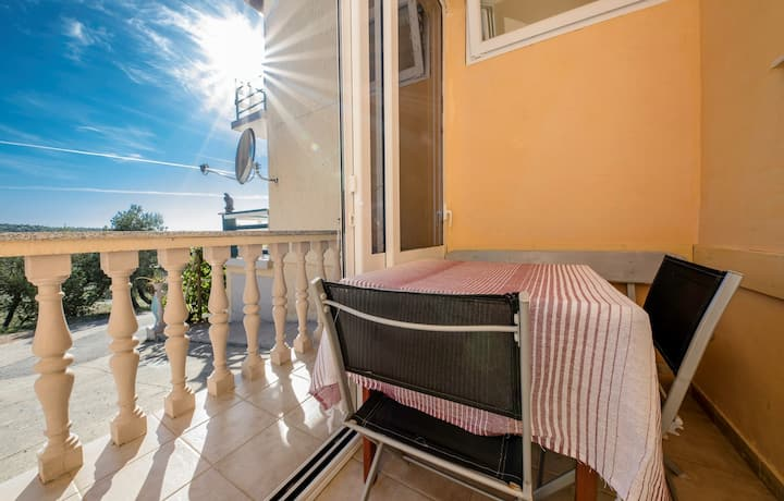 Apartments Opsenica / One bedroom Apartment A3 with Terrace