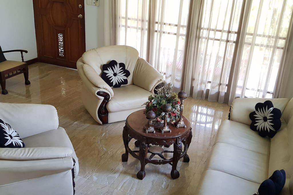 Sofa at ground floor