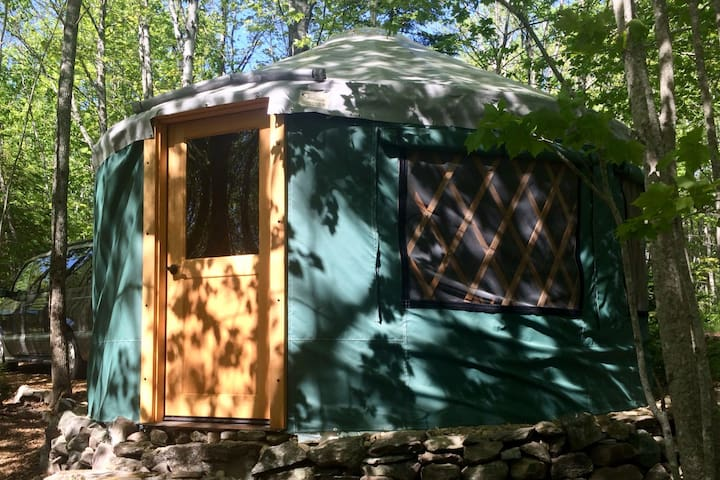 Glamping Near Acadia-Wood Heated