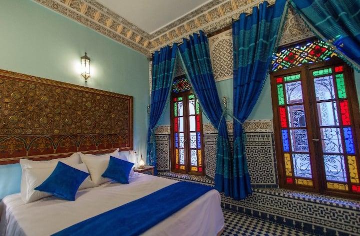 Suite Luxury Room Fes Medina + AC+WiFi +Breakfast