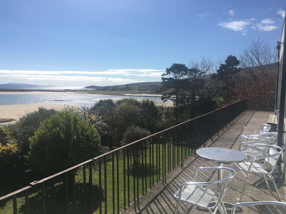 Views all over Clew Bay from our balcony