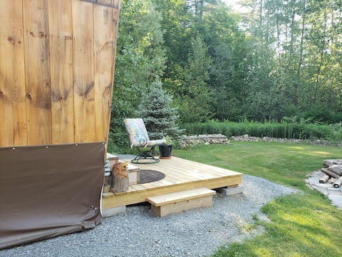 Secluded tiny house resort - DOG FRIENDLY