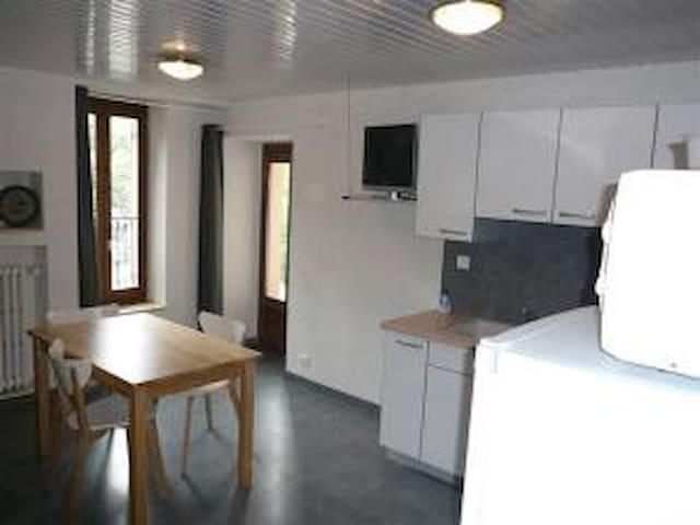appartement spacieux rue principale - Brides-les-Bains - Apartment