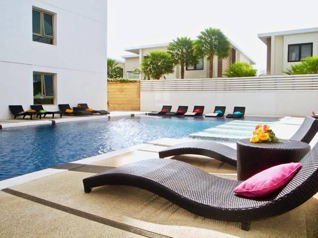 Swimming Pool Area / Sun Loungers