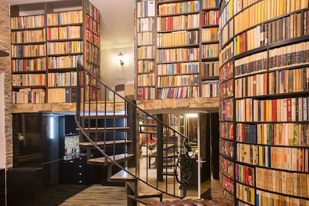 SECRET LIBRARY APARTMENT,CLOSE TO CITY CENTER