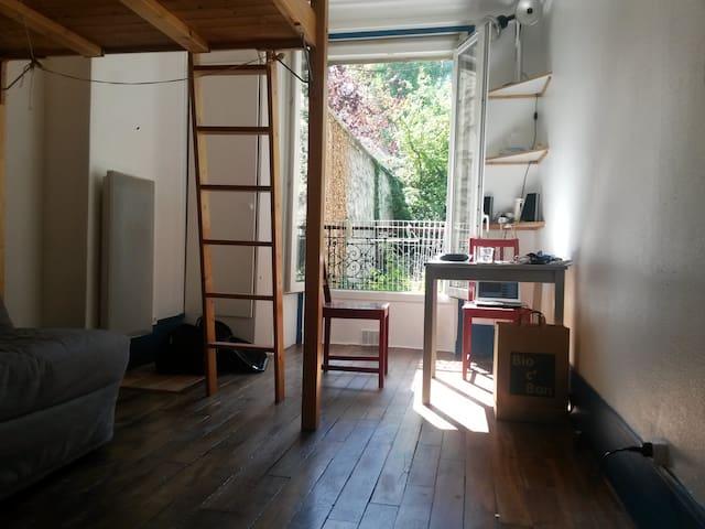 Apartement très calme quartier Gambetta - Paris - Apartment