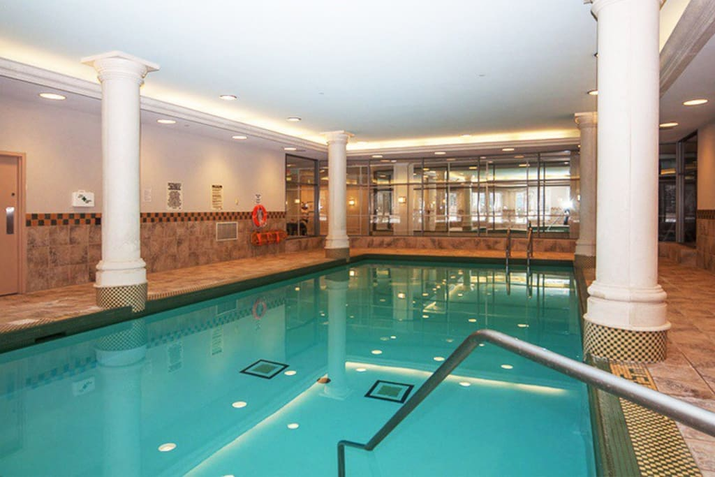 Pool in P1 (also has hot tub and sauna)