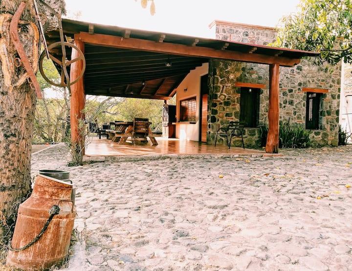 Cabaña  El Encanto Terraza para eventos El Encanto