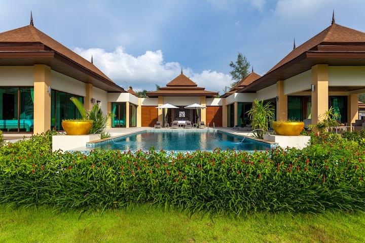 Luxury Pool Villa 3 Bedrooms Sea View (A4)