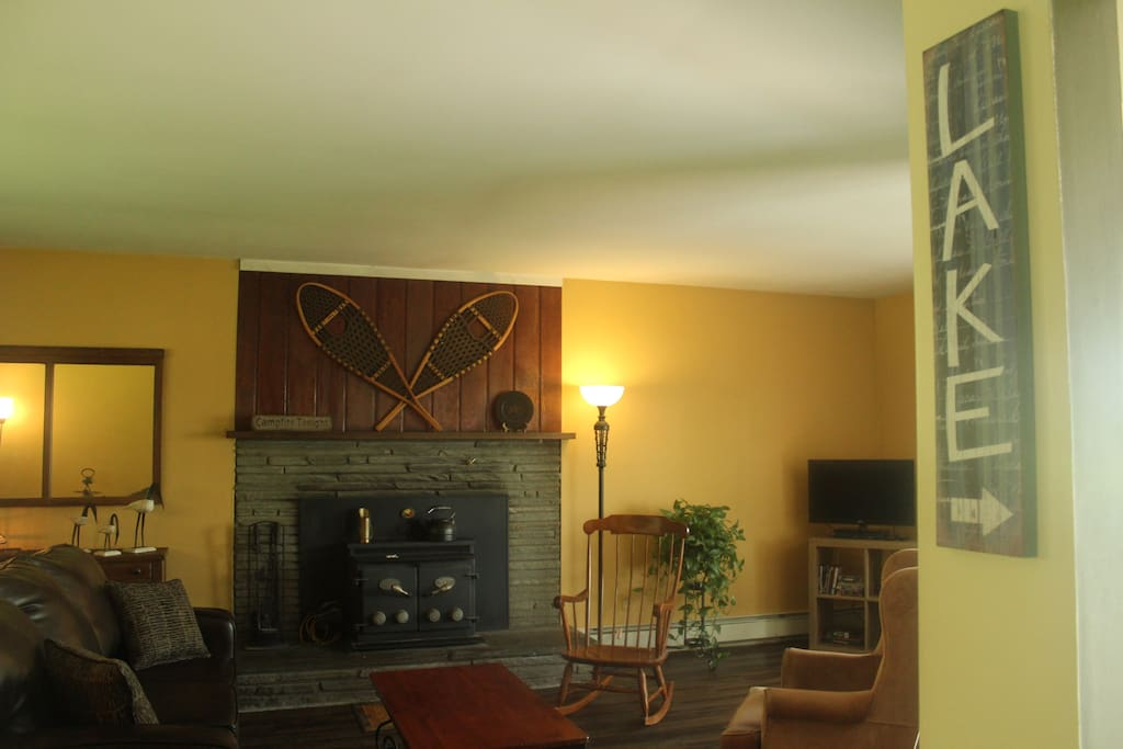 The Main House - Living Room