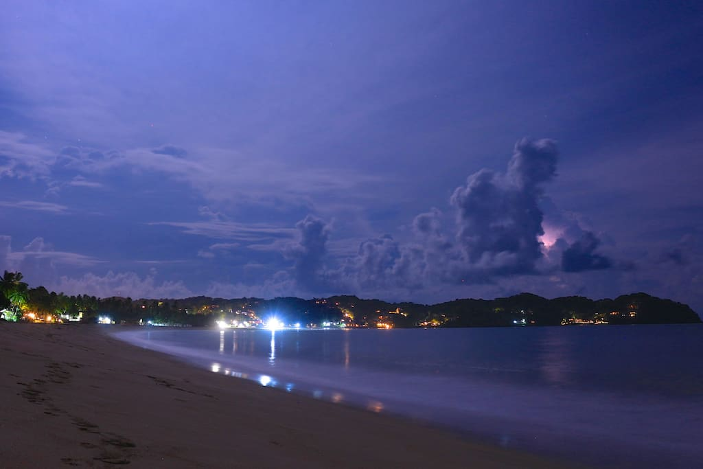 Fron the house you will have the most amazing Sayulita's night view