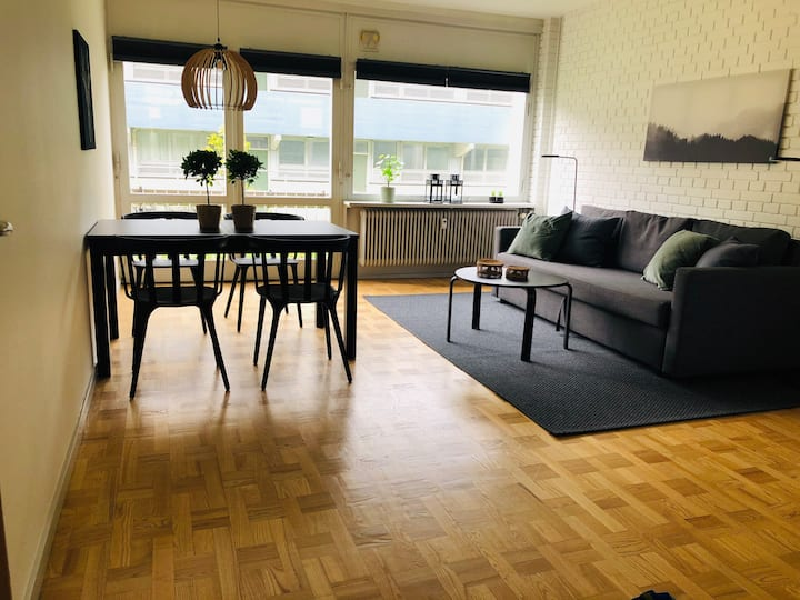 L64,16 2room apartment in suburb to Copenhagen