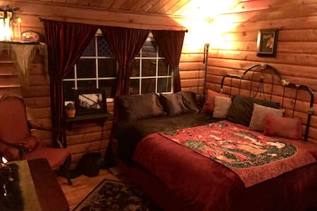 Classy Log Cabin Bedroom - South Lake Tahoe