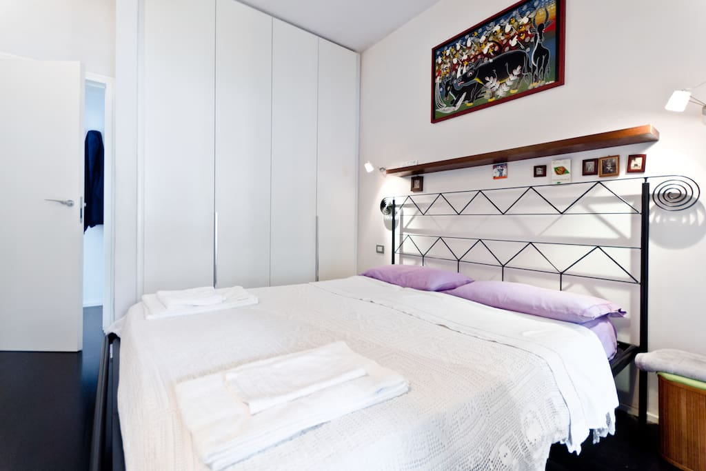 chambre calme salle de bain priv e chambres d 39 h tes louer rome latium italie. Black Bedroom Furniture Sets. Home Design Ideas