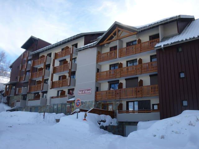 Alpe d'Huez1860-Appart 25m2 6 pers.pied des pistes
