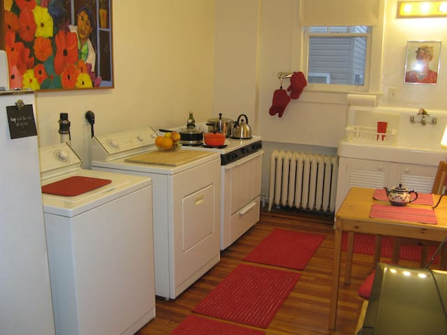 Kitchen with W/D