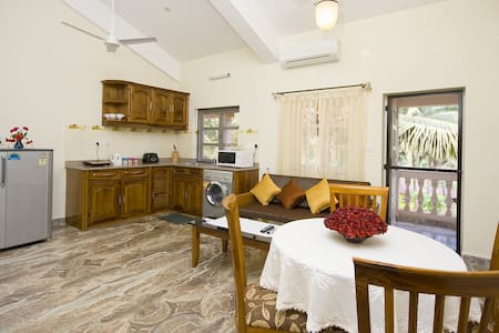 San Miguel Luxury AC apartments - 4 - Panjim - 別荘