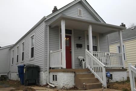 Charming Century Historic Bungalo - St Louis - Casa