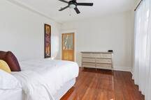 Room with yard balcony