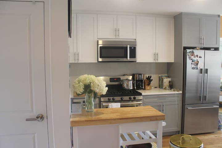 2 bedroom with patio in clinton hill - Brooklyn - Appartamento