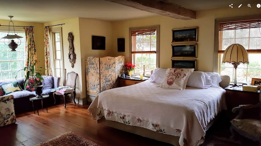 Private room in Charlottesville with king mattress - Charlottesville - House