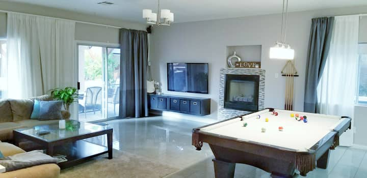 LuxuryTropicalOasis,Heated Pool15min to Strip⭐⭐⭐⭐⭐