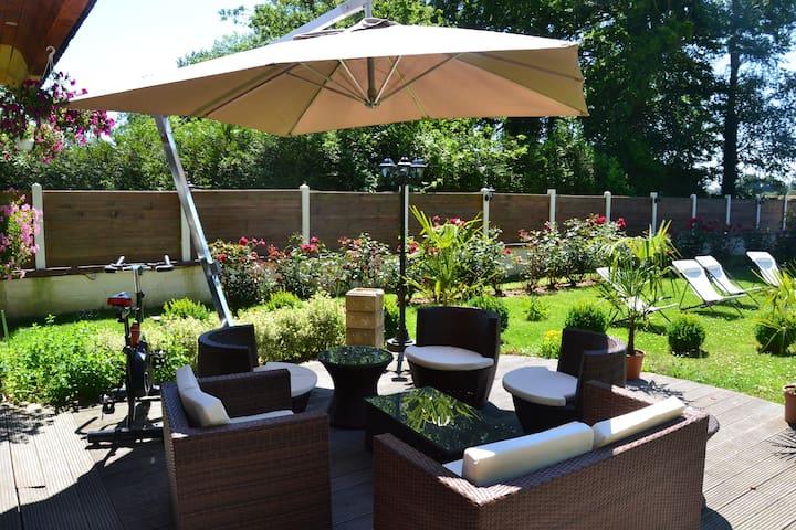 Terrace vue sur jardin