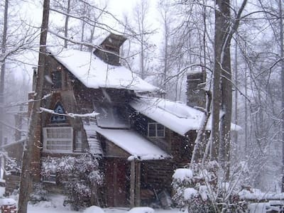 Cozy Log Cabin w/ Music Stage - Pittsboro - Cabane