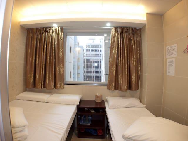 旺角區經濟三人房Budget Triple Room@ Mong Kok Downtown