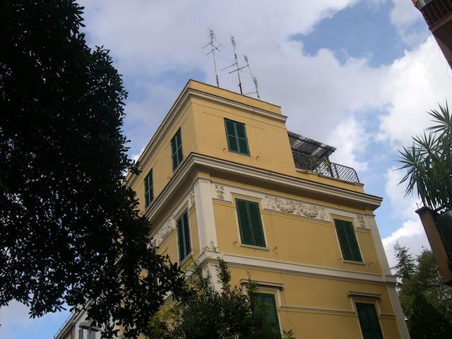 Liberty Penthouse of 1923 in Rome