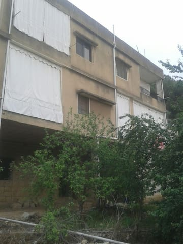 House surrounded by gardens - Mount Lebanon Governorate, LB - Apartment