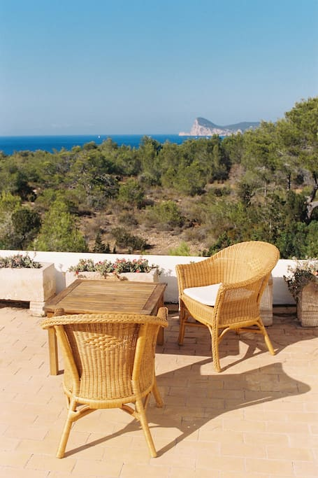 Sea-view from roof terrace, overlooking Cap Nono