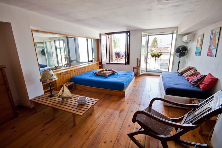 Piano superiore, stanza da letto