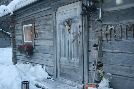 Little cottage in Lapland - Blockhütte