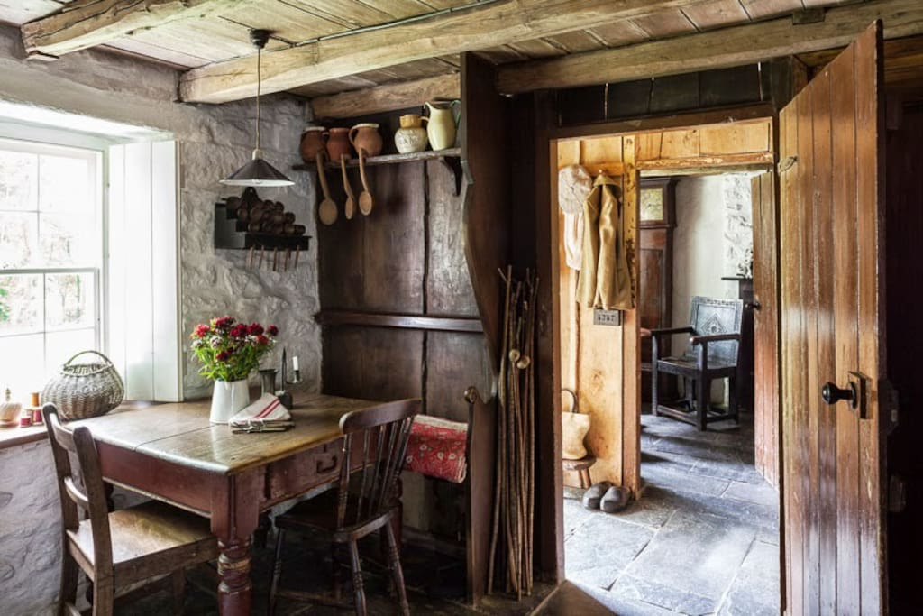 One of the best preserved Welsh Cottage interiors