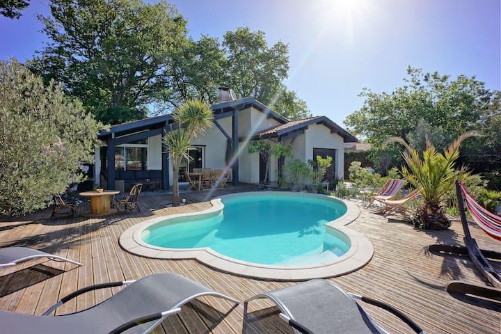Agréable villa avec piscine