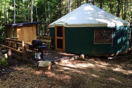 Hemlock Ridge Yurt - Durham - Jurtta