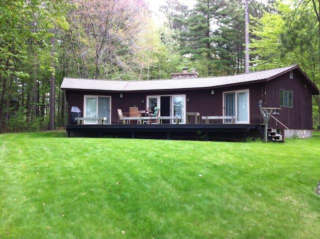 Beautiful Northwoods Lakeside Home