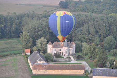 Castle at 80km from Paris - Boigneville - Yermenonville