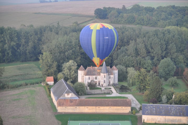 Castle at 80km from Paris