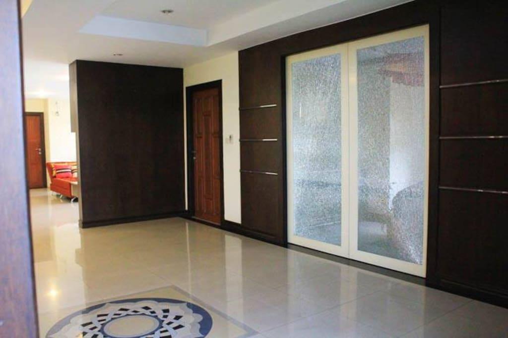 Entrance to Apartment Unit