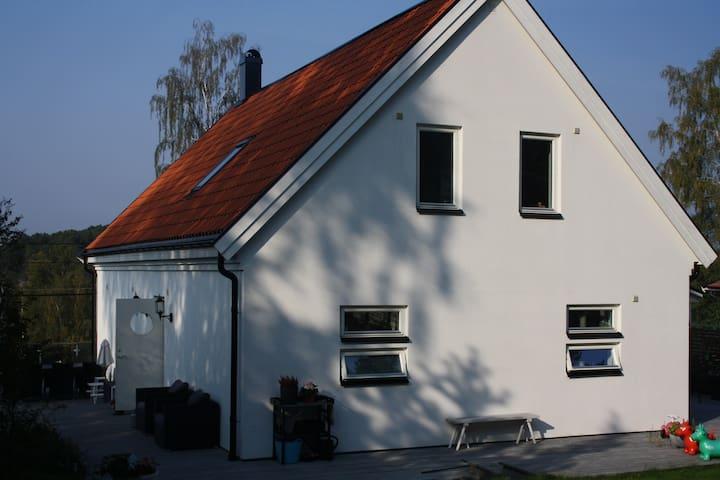 Modern house in Stockholm archipelago Värmdö
