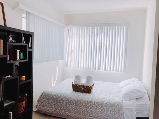 Bedroom 3 With Queen Size Mattress and Beautiful Sunlight.