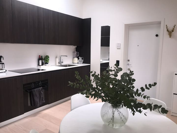 Perfect roof top apartment in central Gothenburg.