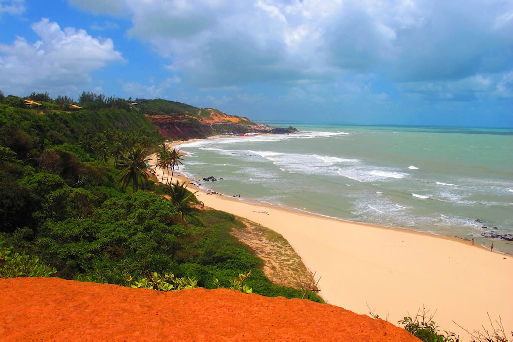 Beautiful natural beaches