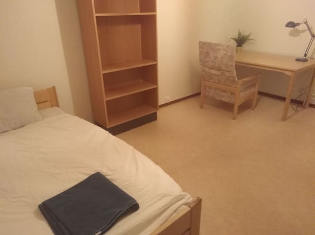 Full separated room 20m2. 5 min to University