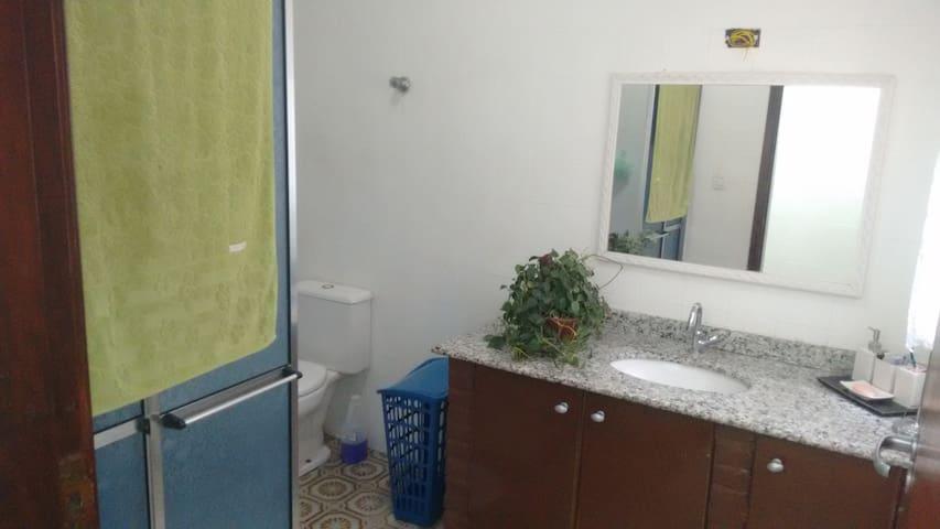 Banheiro Exclusivo para os hospedes