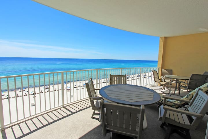 ☀BeachFront for 7 @ Twin Palms 804-2BR☀Book for Spring Break! Pool+HotTub!