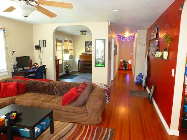 Cam's Artsy 2/1 house - DeLand - Rumah